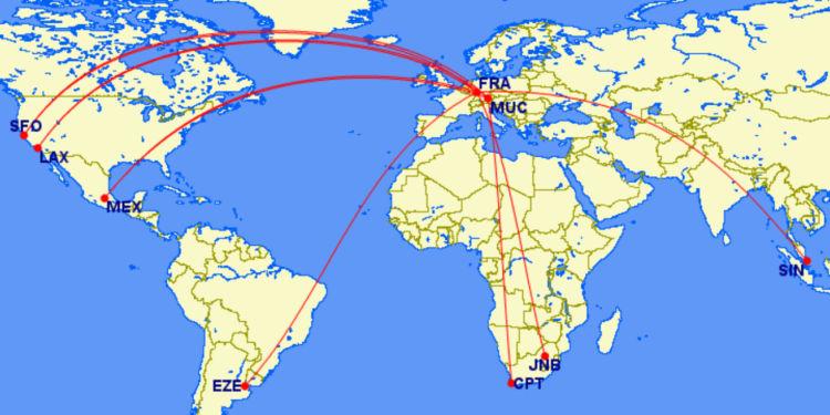 Top 10 Lufthansa First Class Strecken Meilensammler