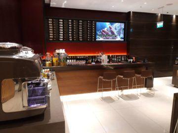 Air Canada Maple Leaf Lounge London Bar