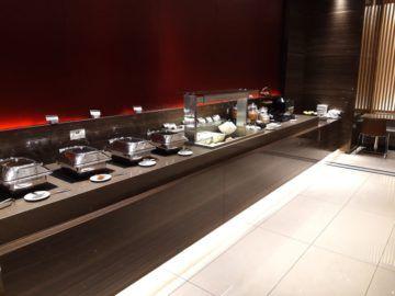 Air Canada Maple Leaf Lounge London Buffet