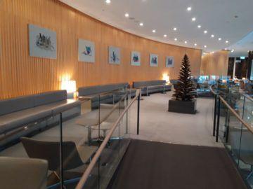 Air Canada Maple Leaf Lounge London Podest