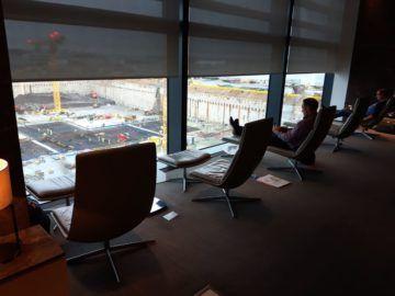 Air Canada Maple Leaf Lounge London Ruhesessel