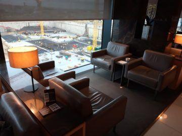Air Canada Maple Leaf Lounge London Sitzgruppe