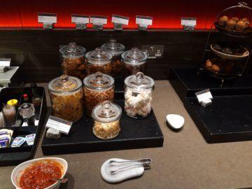 Air Canada Maple Leaf Lounge London Snacks