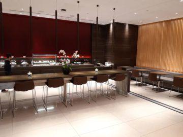 Air Canada Maple Leaf Lounge London Speisebereich