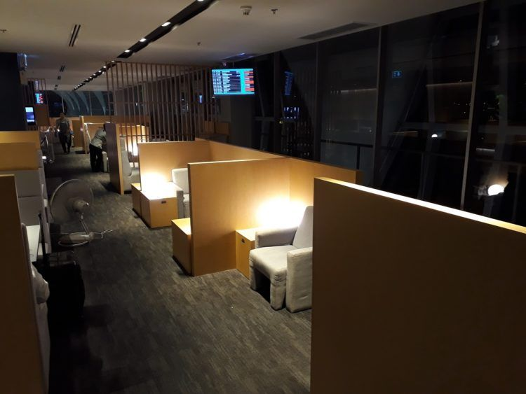 Air France Lounge Bangkok Separee