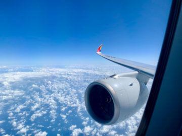 Asiana A350-900 – Wingview
