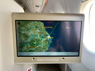 asiana business class a350 900 airshow 4