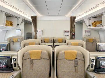 asiana business class a350 900 kabine 3