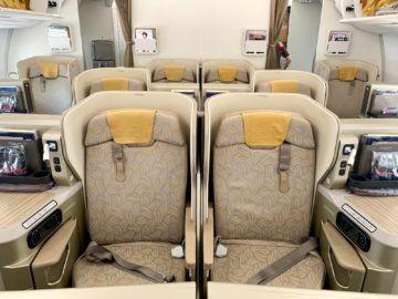 asiana business class a350 900 kabine 4