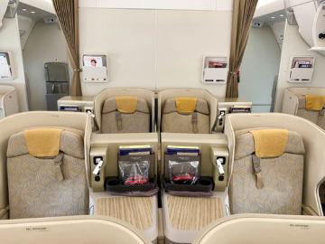 asiana business class a350 900 kabine 5