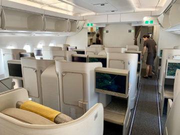 asiana business class a350 900 kabine 6