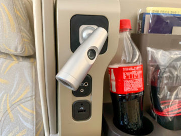 asiana business class a350 900 leselampe 1