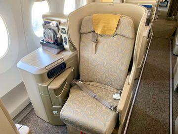 asiana business class a350 900 sitz fenster 1