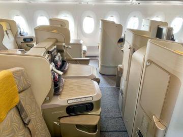 asiana business class a350 900 sitze mitte 1
