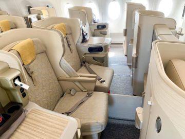 asiana business class a350 900 sitze mitte 2