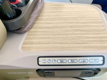 asiana business class a350 900 sitzkontrollen ife controller 2