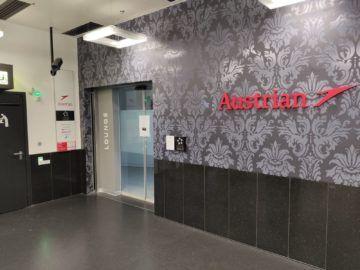 Austrian Airlines Business Lounge Nonschengen Eingang