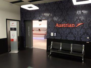 Austrian Lounges Wien Schengen Eingang