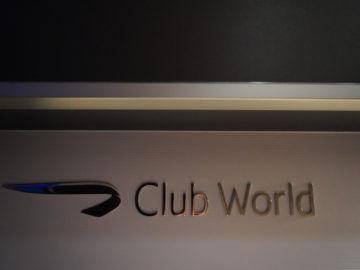 british airways business class a350 1000 club world logo