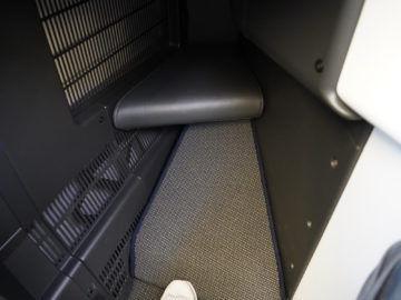 british airways business class a350 1000 defekte fussablage