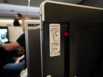 british airways business class a350 1000 kabine schliessen