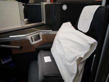 british airways business class a350 1000 mittlerer sitzplatz