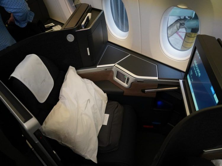 british airways business class a350 1000 sitz 10a