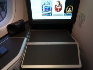 british airways business class a350 1000 tisch