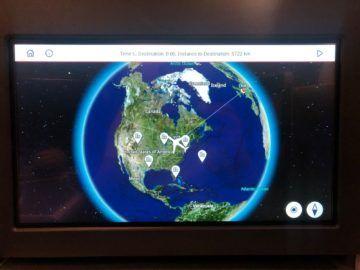 british airways business class a350 1000 world map
