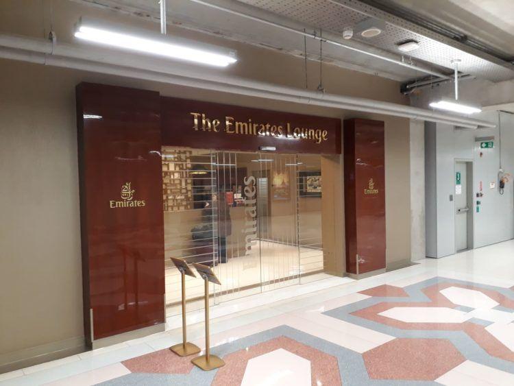 Emirates Lounge Bangkok Eingang