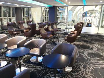 Eva Lounge Bangkok Hinterer Bereich