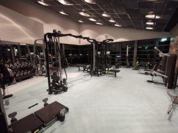 grand hyatt berlin club olympus fitnessraum