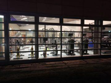 grand hyatt berlin club olympus fitnessraum aussenansicht