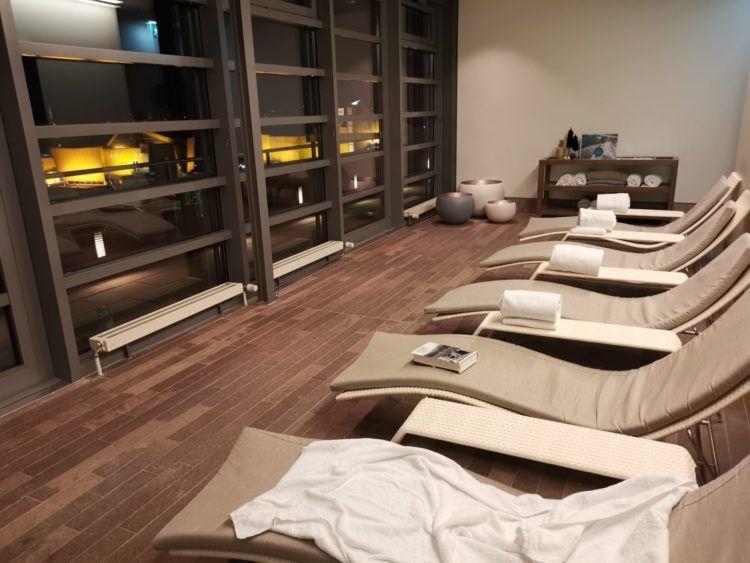 Grand Hyatt Berlin Club Olympus Relaxation Raum