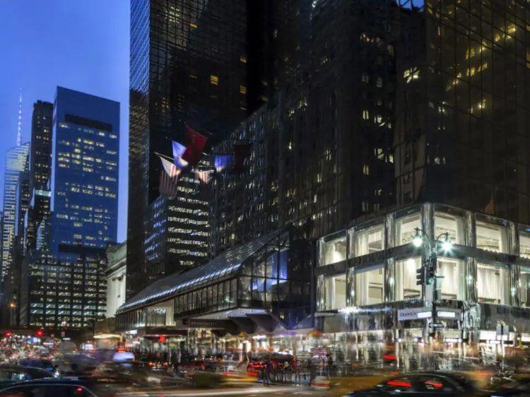 Grand Hyatt New York von Aussen