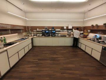 Jet Lounge Wien Buffet Bereich