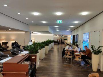 Jet Lounge Wien Hauptgang Blick Vom Buffet
