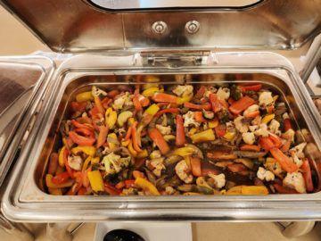 Jet Lounge Wien Hauptspeise Thai Gemüse