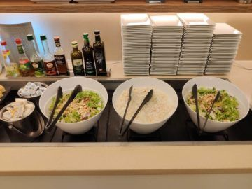 Jet Lounge Wien Salat Buffet