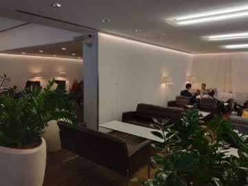 Jet Lounge Wien Sitzbereiche Rechts