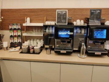 Jet Lounge Wien Tee Kaffee