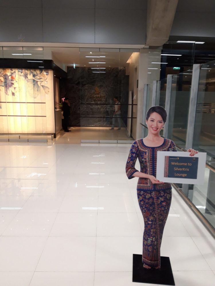 Krisflyer Lounge Bangkok Eingang