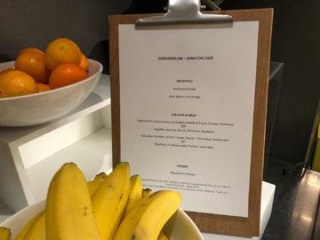 Lufthansa Senator Cafe Muenchen Auswahl Bar