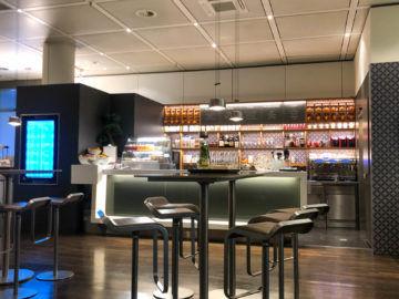 Lufthansa Senator Cafe Muenchen Blick In Die Lounge