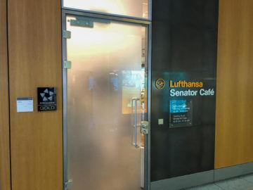 Lufthansa Senator Cafe Muenchen Eingang