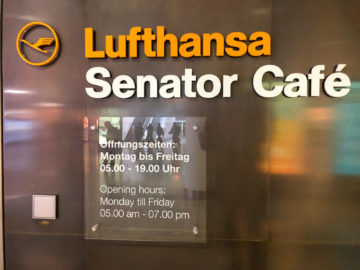 Lufthansa Senator Cafe Muenchen Logo