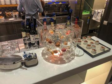 Lufthansa Senator Cafe Muenchen Nachtisch