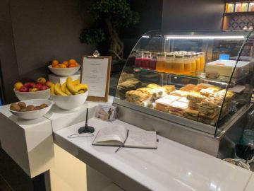 Lufthansa Senator Cafe Muenchen Wraps Focaccia