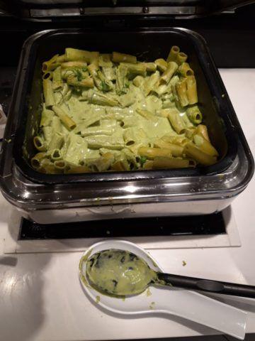 Lufthansa Senator Lounge London Heathrow Buffet Vegetarisch