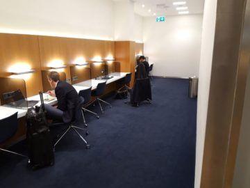 Lufthansa Senator Lounge London Heathrow Business Center